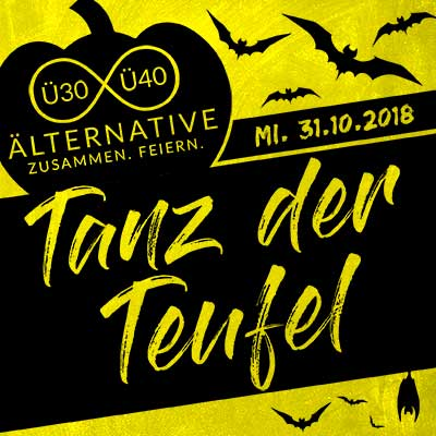 Halloweenparty Köln | ü30 party köln