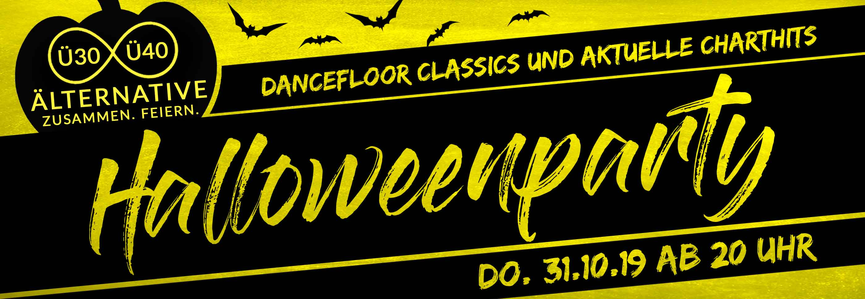 Generation ü30 und ü40 Halloween Party in Köln 2019